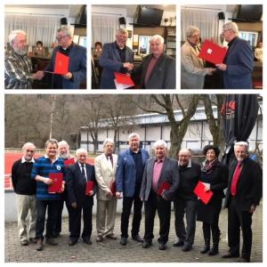 Unsere Jubilare SPD Oberndorf 2018